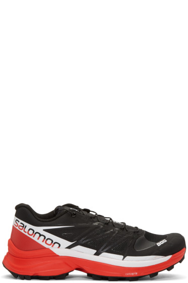 Salomon - Black S-Lab Wings 8 SG Sneakers