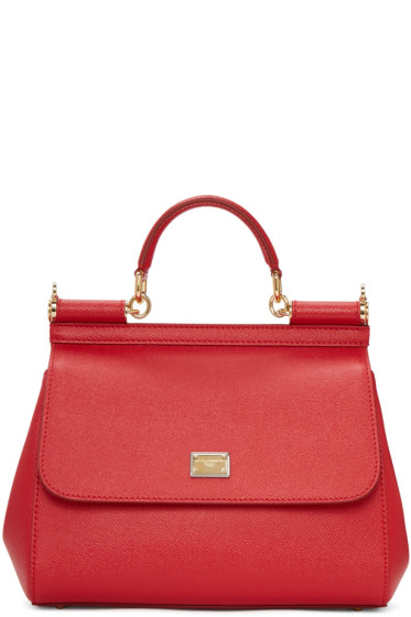 Dolce & Gabbana - Red Medium Sicily Bag