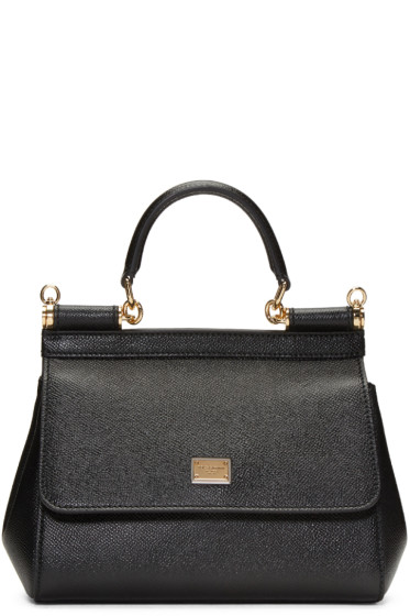 Dolce & Gabbana - Black Small Miss Sicily Bag