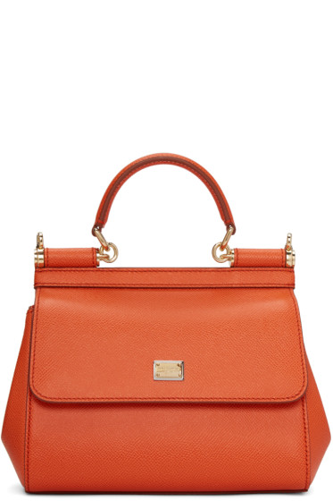Dolce & Gabbana - Orange Small Miss Sicily Bag