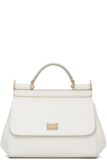 Dolce & Gabbana - White Mini Miss Sicily Bag