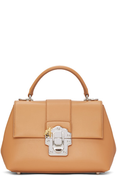 Dolce & Gabbana - Brown Small Lucia Bag