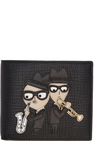 Dolce & Gabbana - Black Designers Saxophone Wallet