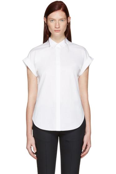 Rag & Bone - White Ara Tie Back Shirt