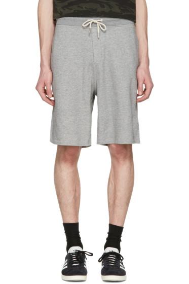 Rag & Bone - Grey Standard Issue Sweat Shorts