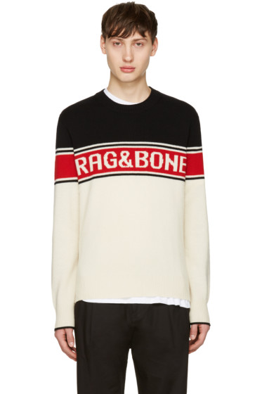 Rag & Bone - Tricolor Matthew Sweater