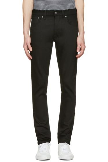 Nudie Jeans - Black Tilted Tor Jeans