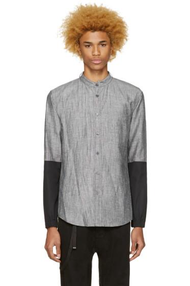 Public School - Grey Cret Shirt