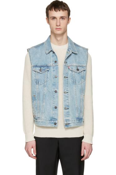 Levi's - Blue Denim Trucker Vest