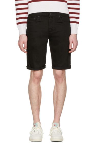 Levi's - Black Denim Cut Off 511 Shorts