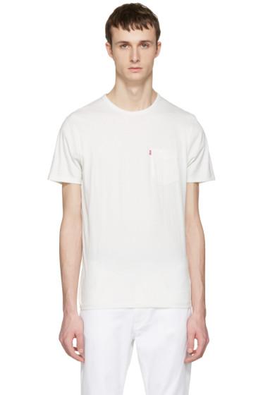 Levi's - White Sunset Pocket T-Shirt