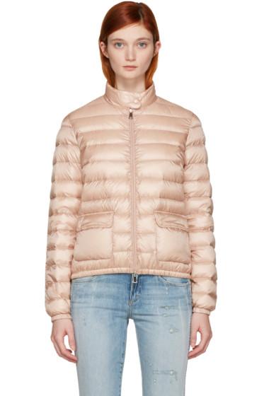Moncler - Pink Down Lans Jacket