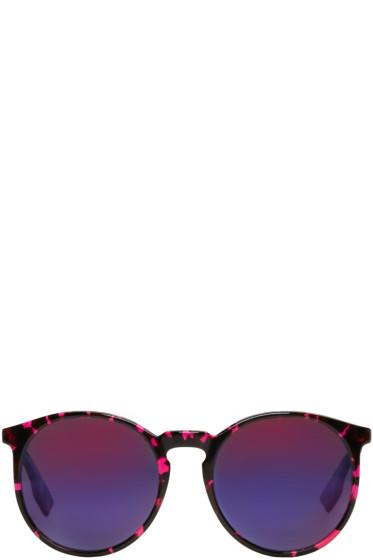 McQ Alexander Mcqueen - Pink Round Sunglasses