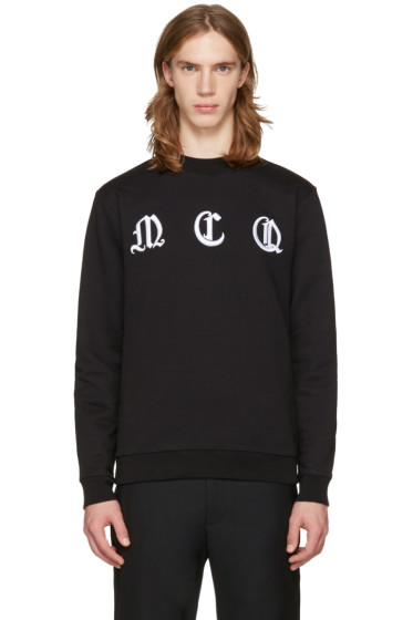 McQ Alexander Mcqueen - Black Clean Logo Pullover
