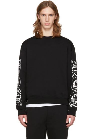 McQ Alexander Mcqueen - Black Oversized Logo Pullover