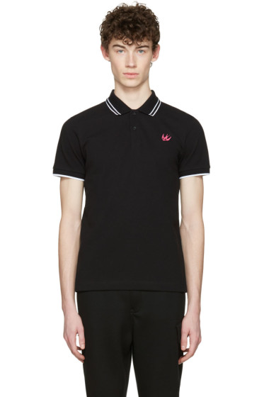 McQ Alexander Mcqueen - Black Swallow Polo