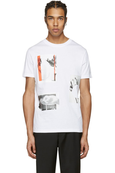 McQ Alexander Mcqueen - White Graphic T-Shirt
