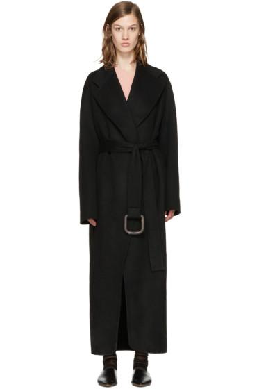 Acne Studios - Black Lova Doublé Coat