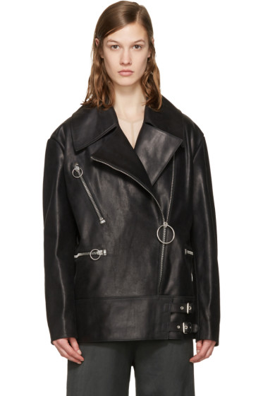Acne Studios - Black Morely Biker Jacket
