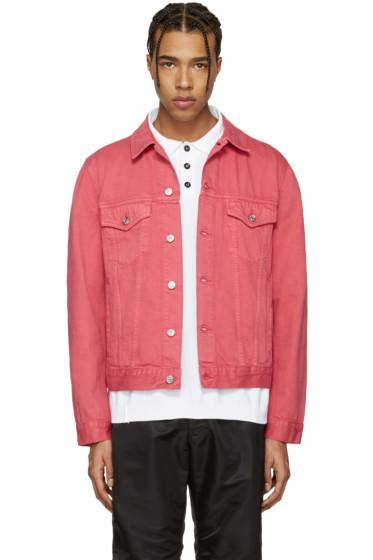Acne Studios - Pink Beat Denim Jacket