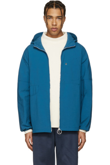 Acne Studios - Blue Canvas Motion Jacket