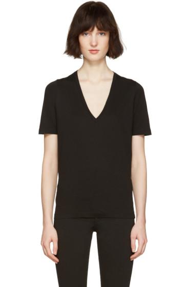 Dsquared2 - Black V-Neck Renny Fit T-Shirt