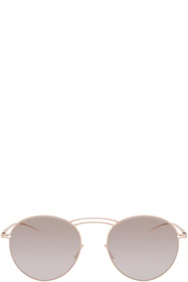 Maison Margiela - Beige Mykita Edition MMESSE011 Sunglasses
