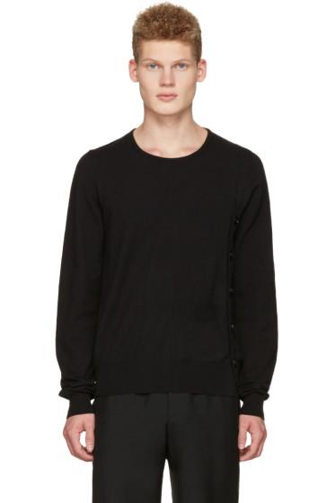 Maison Margiela - Black Side Button Pullover