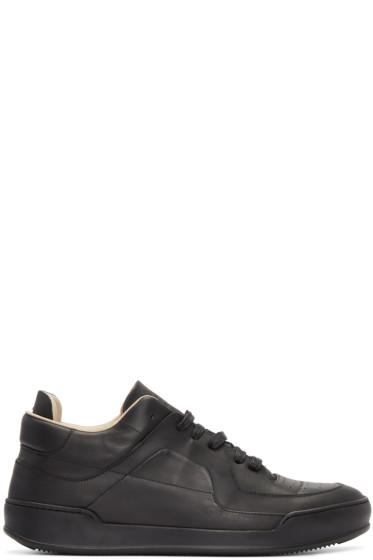 Maison Margiela - Black Low-Top Sneakers