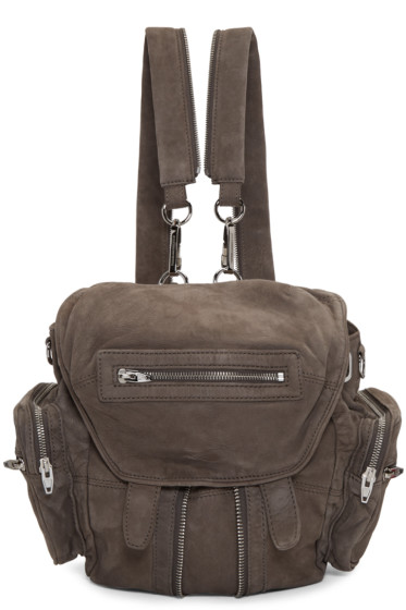 Alexander Wang - Grey Mini Marti Backpack