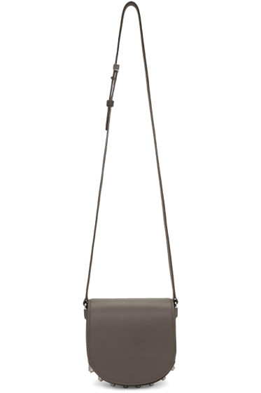Alexander Wang - Grey Mini Lia Satchel