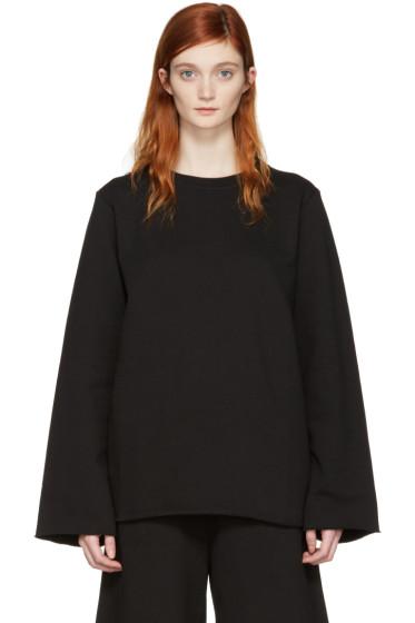 MM6 Maison Margiela - Black Basic Pullover