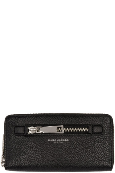Marc Jacobs - Black Gotham Continental Wallet