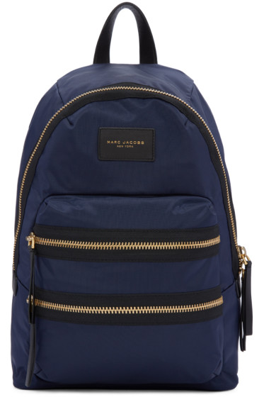 Marc Jacobs - Navy Nylon Biker Backpack