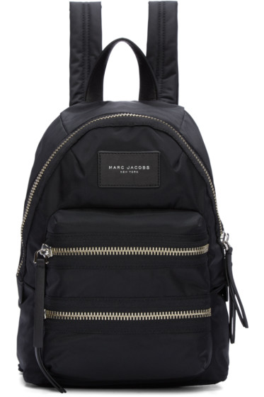 Marc Jacobs - Black Mini Biker Backpack