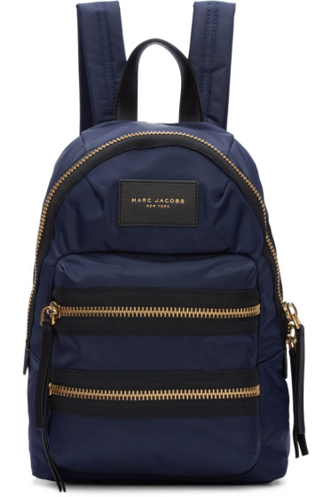 Marc Jacobs - Navy Mini Biker Backpack