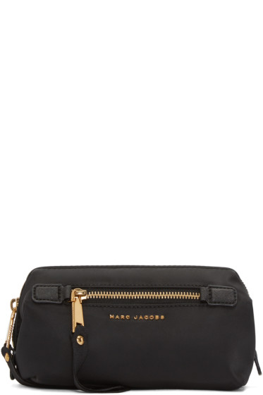 Marc Jacobs - Black Trooper Framed Big Bliz Cosmetic Case