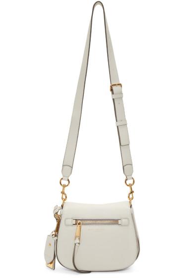 Marc Jacobs - White Small Nomad Recruit Saddle Bag