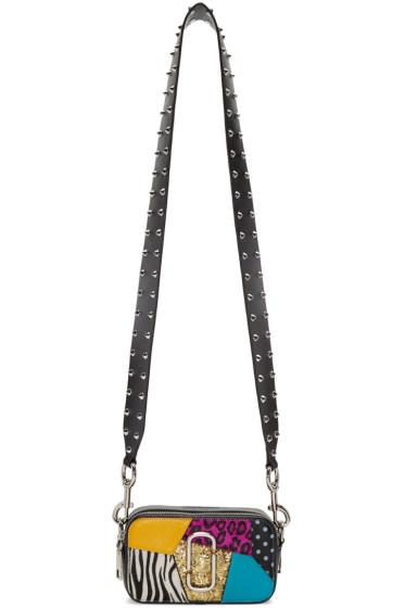 Marc Jacobs - Black Punk Snapshot Small Camera Bag