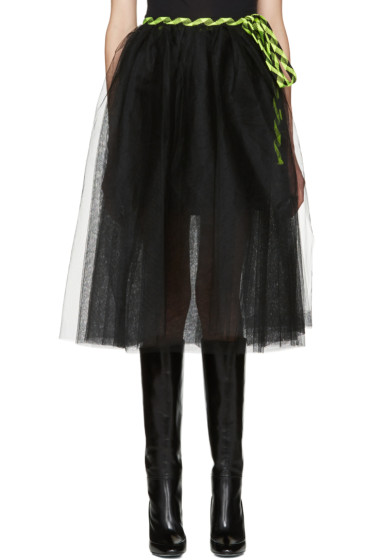 Marc Jacobs - Black Tulle Wrap Skirt