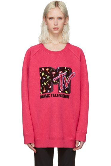 Marc Jacobs - Pink Palms MTV Pullover