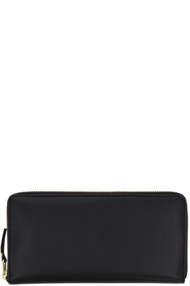 Comme des Garçons Wallets - Black Leather Continental Wallet