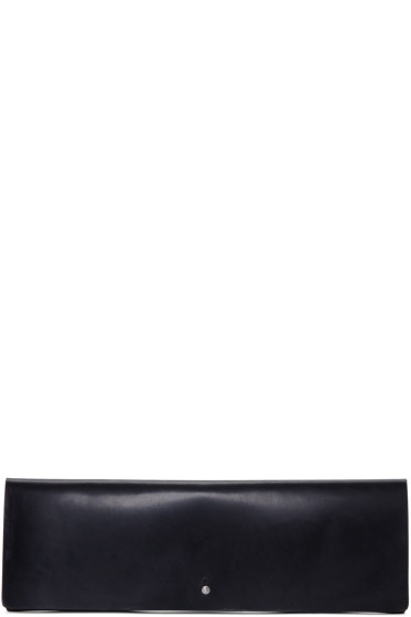 Rick Owens - Black Large Flat Wallet