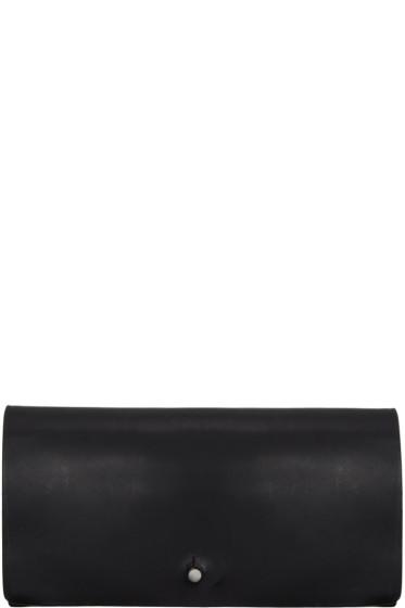Rick Owens - Black Medium Flat Wallet