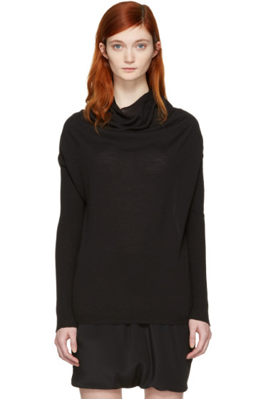 Rick Owens - Black Crater Pullover