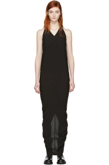 Rick Owens - Black Moody Tank Gown