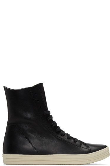 Rick Owens - Black Mastodon High-Top Sneakers