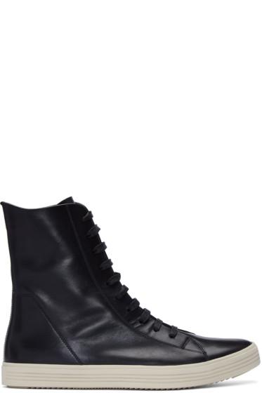 Rick Owens - Black Mastadon High-Top Sneakers