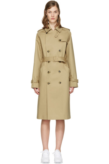 A.P.C. - Beige Greta Trench Coat