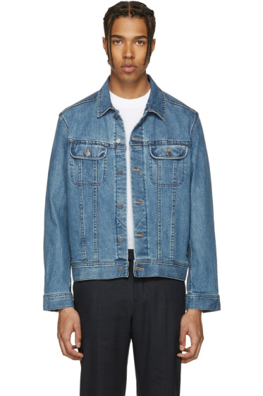 A.P.C. - Indigo Denim US Jacket